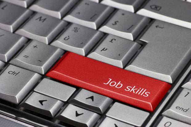 'Job skills' key on PC keyboard