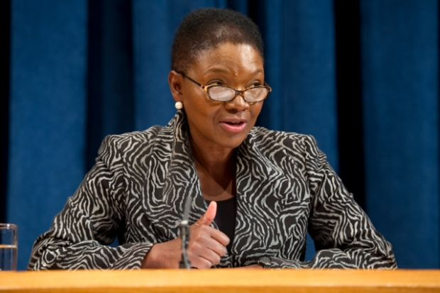 Baroness Amos United Nations official black woman vice-chancellor