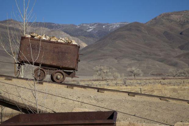 Gold rush cart