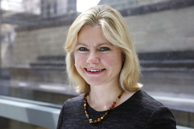 Secretary of State for Education Justine Greening