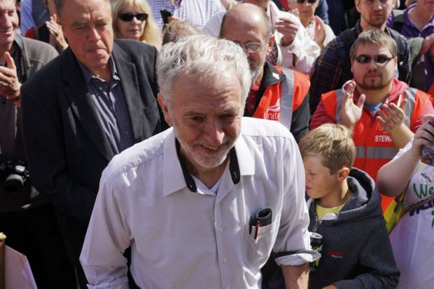 Jeremy Corbyn, Labour Party, Burston Strike School Rally, Norfolk, 2015
