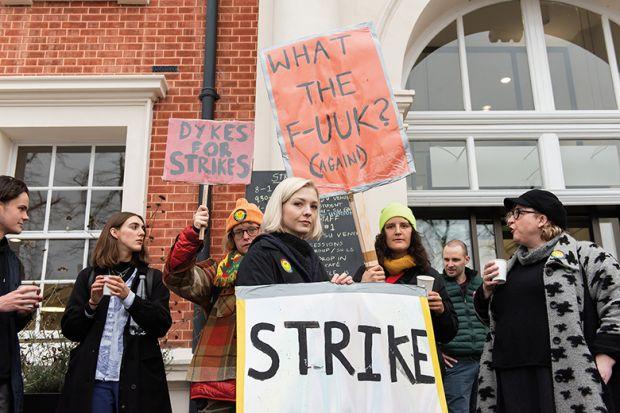 Strike at Goldsmiths