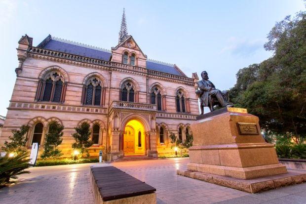 Most beautiful universities in Australia - University of Adelaide